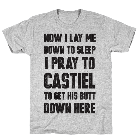 Now I Lay Me Down To Sleep Mens T-Shirt