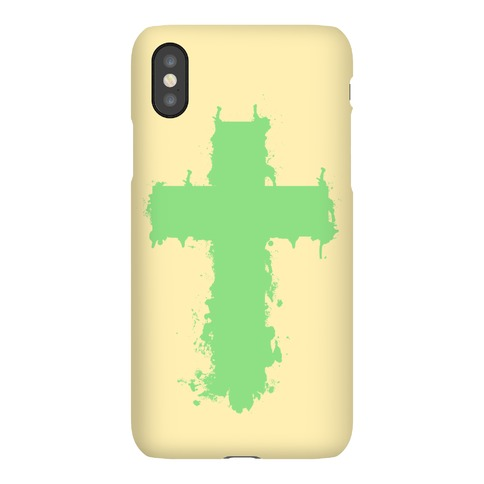 SPLATTER CROSS Phone Case
