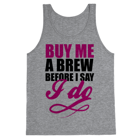 Buy Me a Brew Tank Top