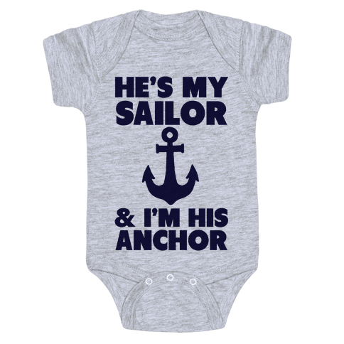 I'm His Anchor Baby Onesy