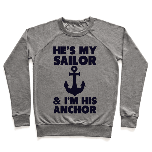 I'm His Anchor Pullover