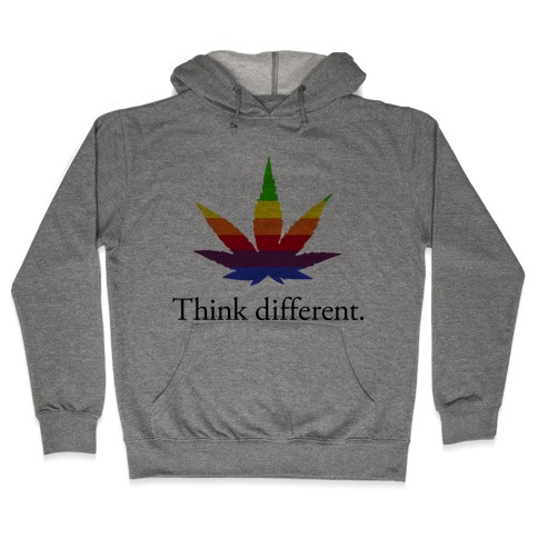 Think Different Hooded Sweatshirt