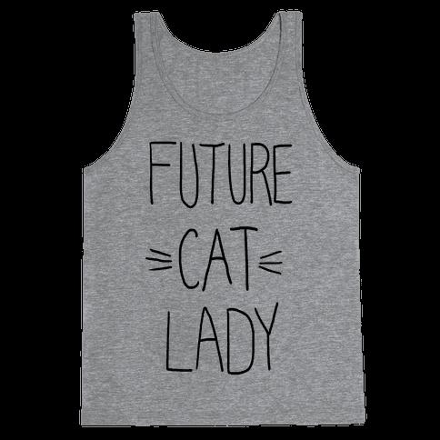 Future Cat Lady Tank Top