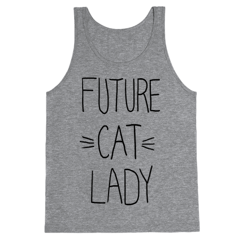 Future Cat Lady Tank Top