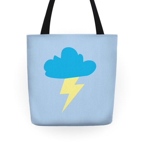 Lightning and Cloud Tote