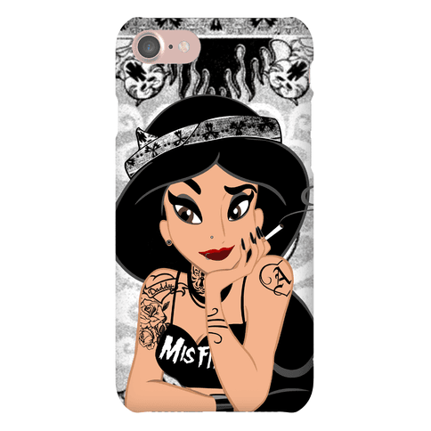 Punk Rock Princess Parody Phone Case