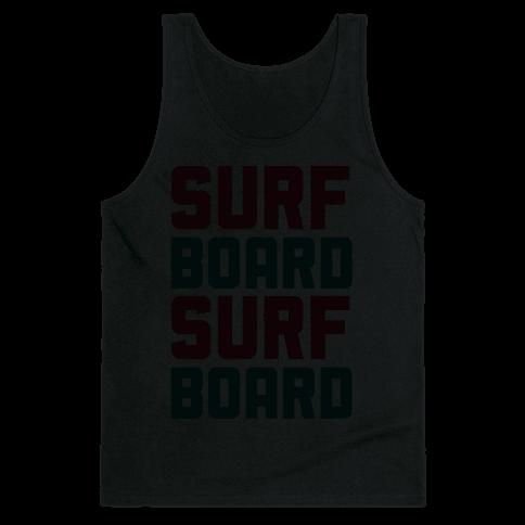 Surfboard Tank Top