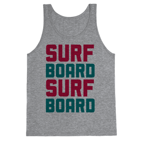 Surfboard Tank Top