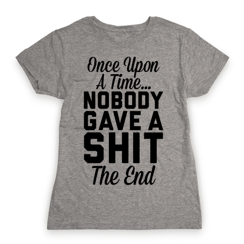 Once Upon A Time Womens T-Shirt