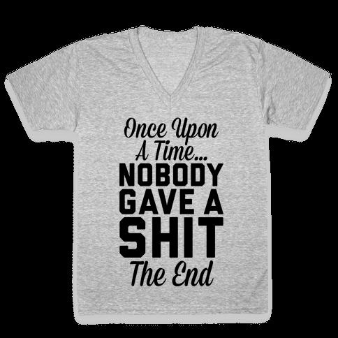 Once Upon A Time V-Neck Tee Shirt