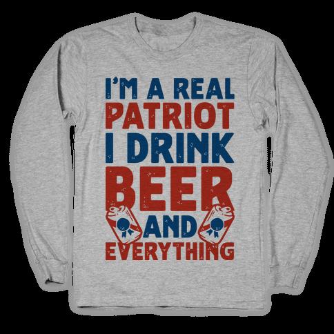 Real Patriot Long Sleeve T-Shirt