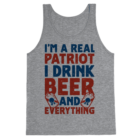 Real Patriot  Tank Top