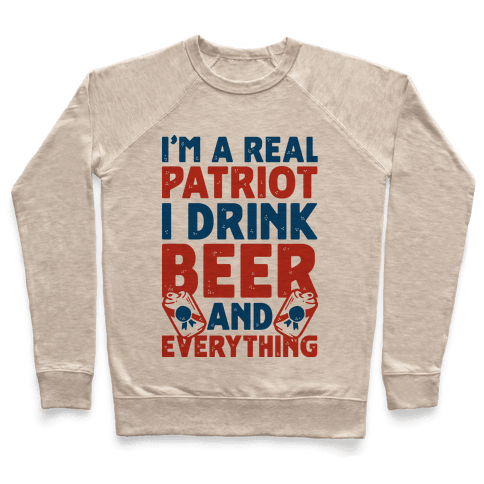 Real Patriot  Pullover
