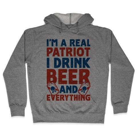 Real Patriot Hooded Sweatshirt