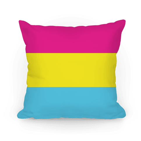 Pansexual Pride Flag Pillow