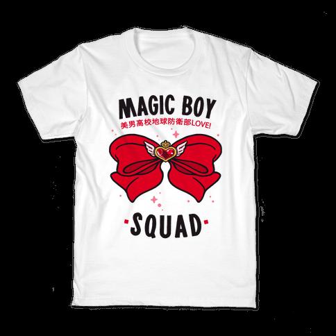 Magic Boy Squad (Red) Kids T-Shirt