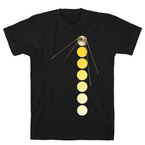 Sputnik Gold (Alternate) Mens T-Shirt