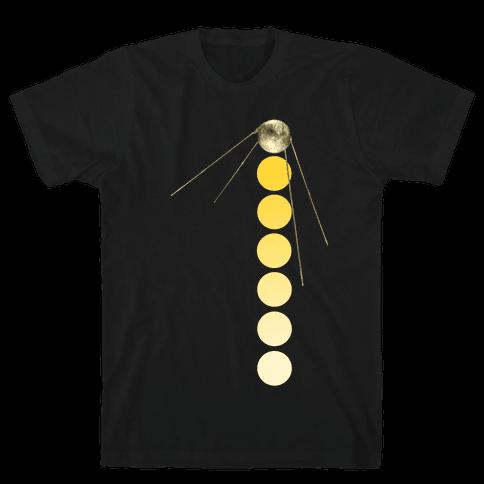 Sputnik Gold (Alternate) Mens T-Shirt