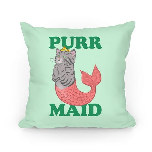 Purr Maid Pillow
