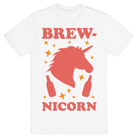 Brew-nicorn Mens T-Shirt