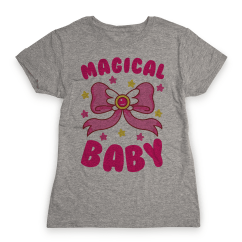 Magical Baby (Moon) Womens T-Shirt