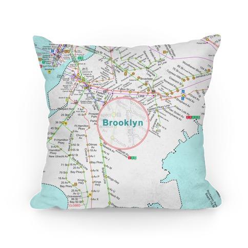 Brooklyn Transit Map