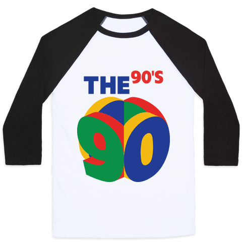 The 90's (Nintendo 64) Baseball Tee