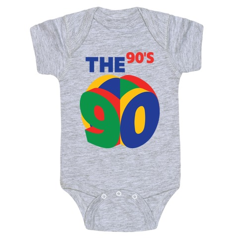 The 90's (Nintendo 64) Baby Onesy