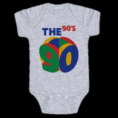 The 90's (Nintendo 64) Baby Onesy
