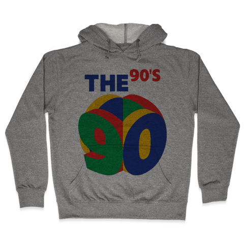The 90's (Nintendo 64) Hooded Sweatshirt