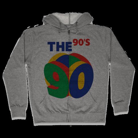 The 90's (Nintendo 64) Zip Hoodie