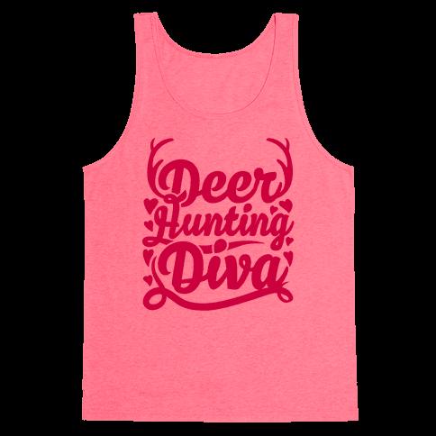 Deer Hunting Diva Tank Top