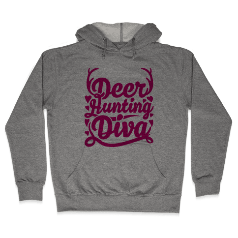 Deer Hunting Diva Hooded Sweatshirt
