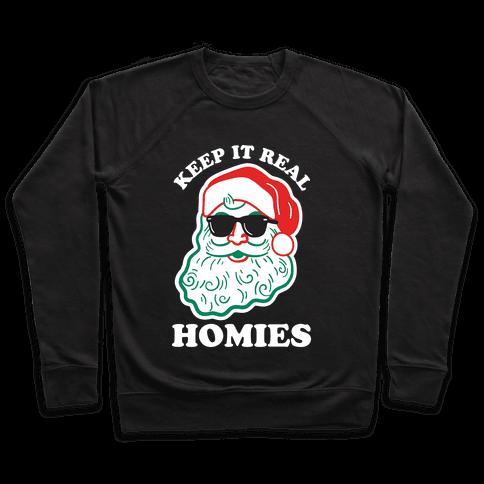 Keep It Real - Santa Pullover