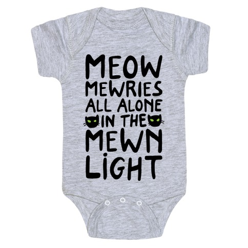 Meowmewries Baby Onesy