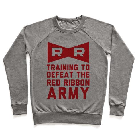 Training To Defeat The Red Ribbon Army Pullover