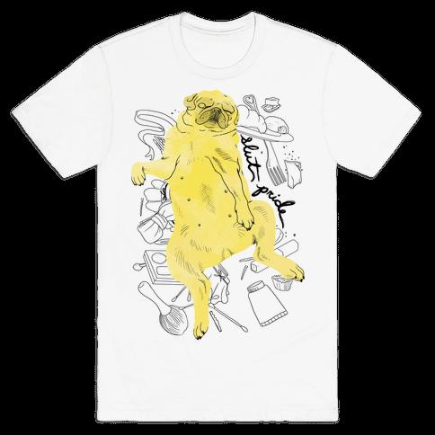 Slut Pride - Pug Mens T-Shirt
