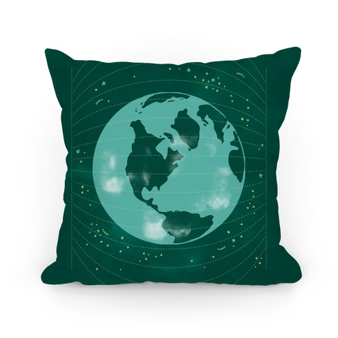Stars and Earth Pillow