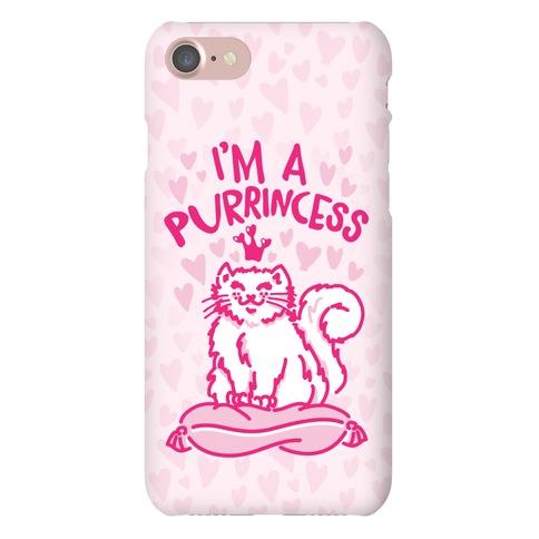 I'm A Purrincess Phone Case