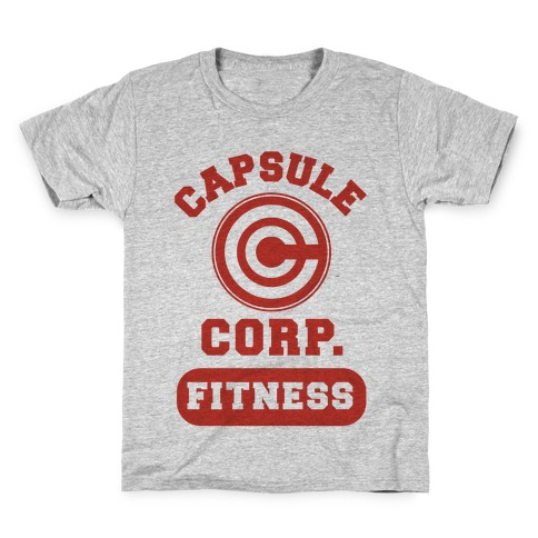 Capsule Corp. Fitness Kids T-Shirt