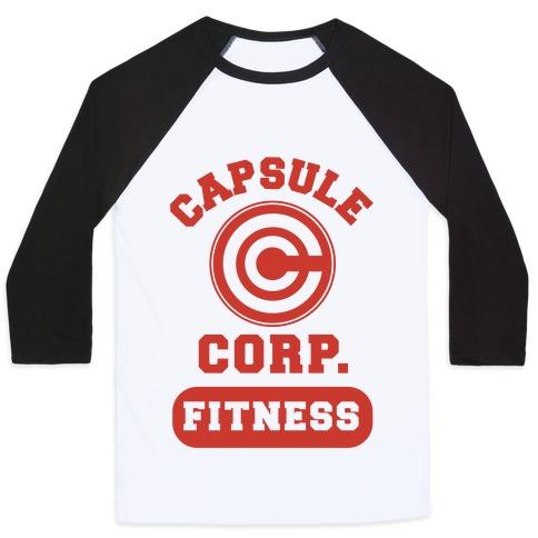 Capsule Corp. Fitness Baseball Tee