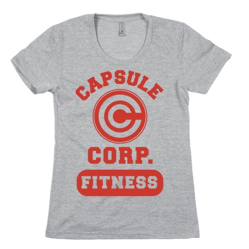 Capsule Corp. Fitness Womens T-Shirt