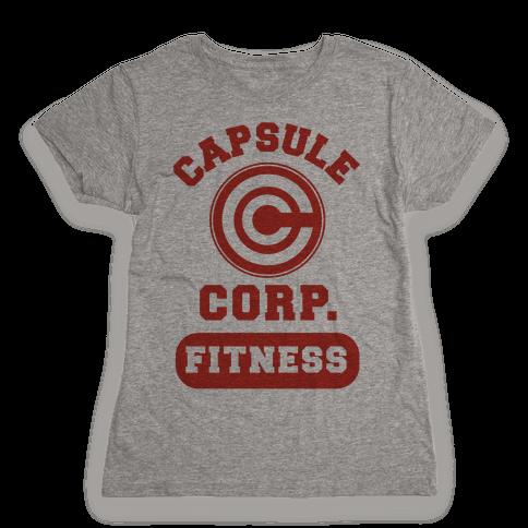 Capsule Corp. Fitness Womens T-Shirt