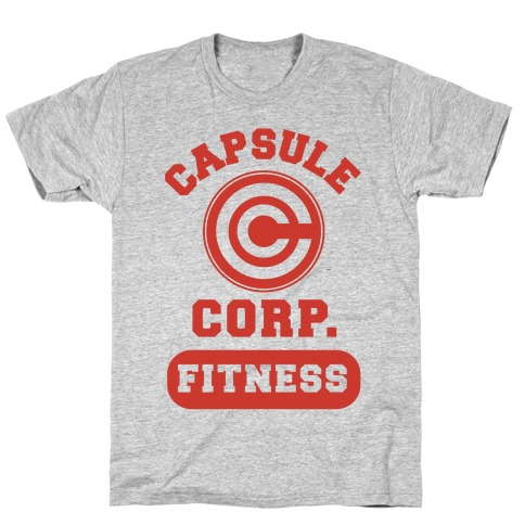 Capsule Corp. Fitness T-Shirt