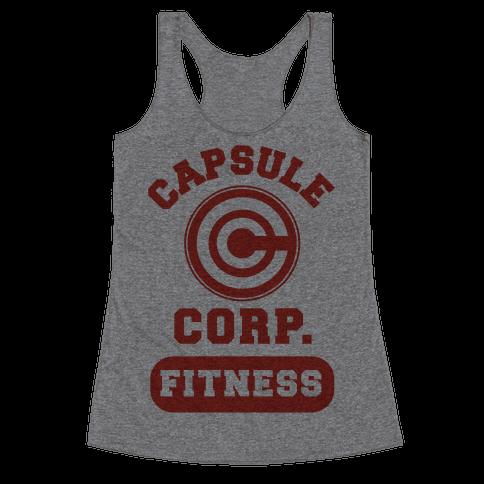 Capsule Corp. Fitness Racerback Tank Top
