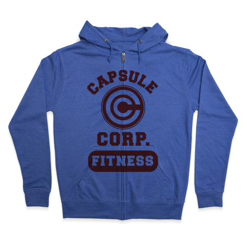 Capsule Corp. Fitness Zip Hoodie