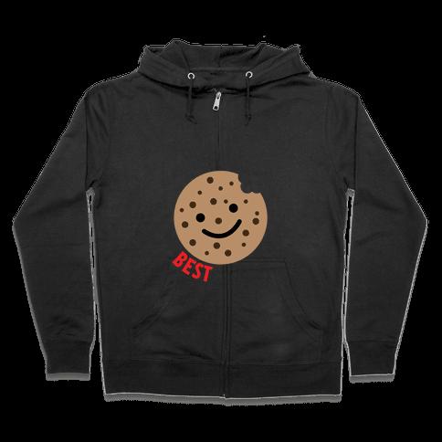 Best Cookies Zip Hoodie
