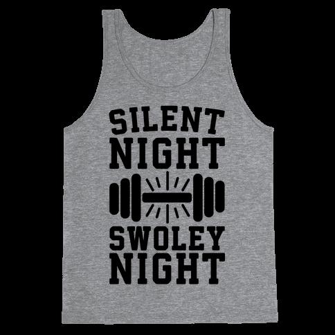 Silent Night Swoley Night Tank Top