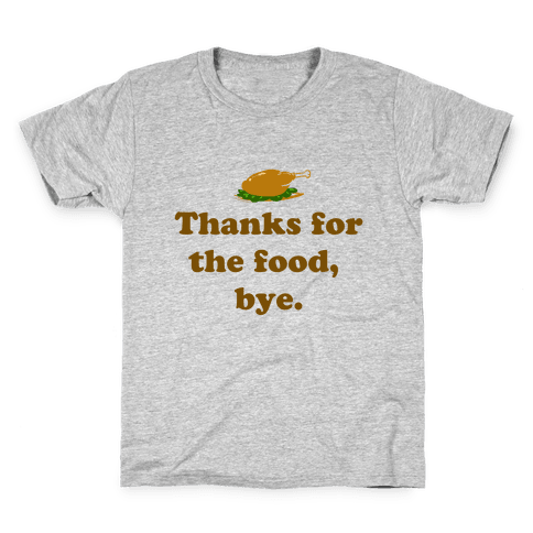 Thanksgiving Thanks Kids T-Shirt