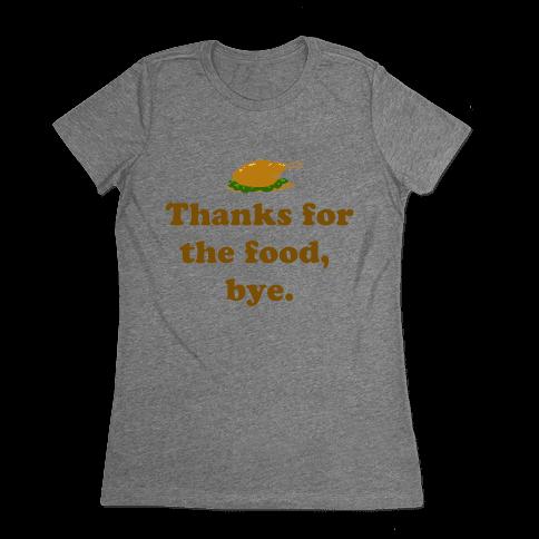 Thanksgiving Thanks Womens T-Shirt
